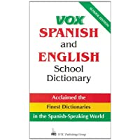 Vox Spanish and English School Dictionary: School Edition v. 1 (Vox Dictionary Series)