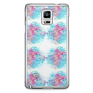 Waves Samsung Note 4 Transparent Edge Case - Design 3