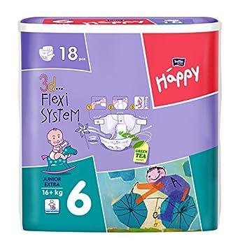 kg Größe 6 108 Stück Bella Baby Happy Windeln Junior Extra 16