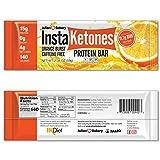 InstaKetones 11.7g GoBHB Per Protein Bar (Orange Burst)...
