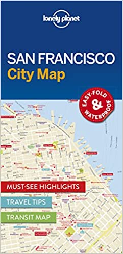 San Francisco City Map Travel Guide Lonely Planet 9781786577818