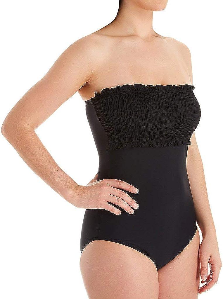 Pour Moi Womens Free Spirit Bandeau Control One Piece Swimsuit 13206