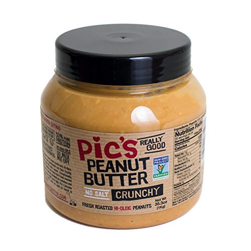 no salt peanut butter