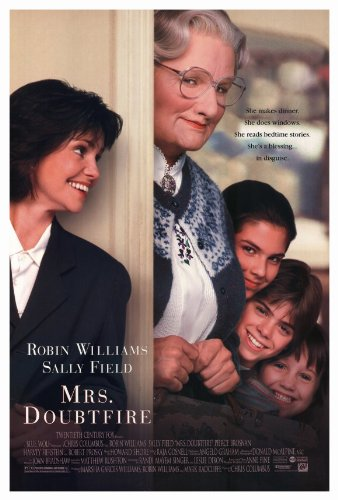 Image result for mrs doubtfire robin williams poster