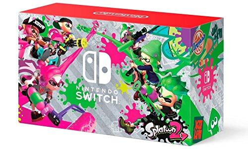 Nintendo Switch Hardware with Splatoon 2 + Neon Green/Neon Pink Joy-Cons (Nintendo Switch)