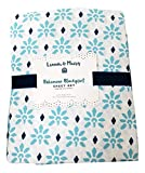 Pottery Barn PB Teen Blue Lennon and Maisy Bohemian Blockprint TWIN Sheet Set