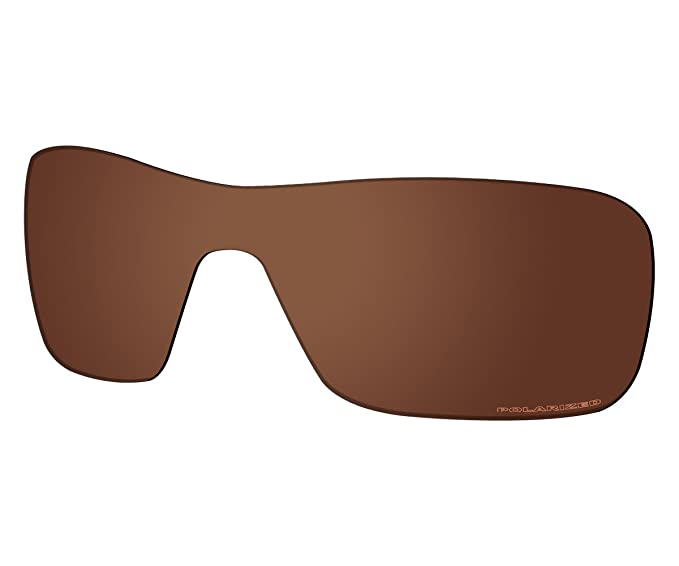 680586644d2 Saucer Premium Replacement Lenses for Oakley Turbine Rotor Sunglasses High  Defense - Amber Brown Polarized