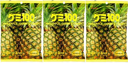 - Kasugai Pineapple Gummy Candy 3.77oz (3 Pack)