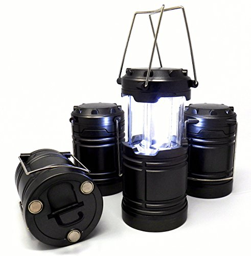Product Name: IIT 41200 Tactical Pop-Up LED Lantern, 4 Pack, No rust with magnetic base and hook – Emergency Lighting for Power Outages, Road Side repairs and Survival Kits by Illinois Industrial Tools