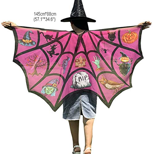 Halloween Party Soft Fabric Butterfly Wings Shawl Fairy