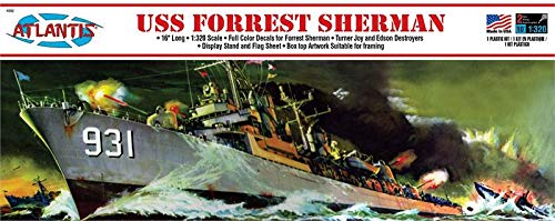 USS Forrest Sherman 1/320 Plastic Model KIT Atlantis