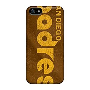 Shock Absorption Hard Cell-phone Case For Iphone 5/5s (nKn20096GAqZ) Custom Nice San Diego Padres Image