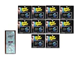 Bump Fighter Refill Cartridge Blades for Men - 5 ea. (Pack of 10) with FREE Loving Color trial size conditioner