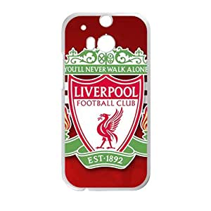 HGKDL Liverpool Football Club Cell Phone Case for HTC One M8