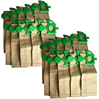 20 Replacements for Sebo Felix Paper Bags, Compatible With Part # 7029ER, by Think Crucial