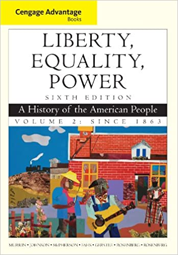 Amazon cengage advantage books liberty equality power a cengage advantage books liberty equality power a history of the american people volume 2 since 1863 6th edition kindle edition fandeluxe Gallery