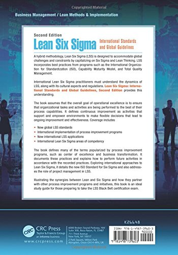 lean six sigma international standards and global guidelines second edition