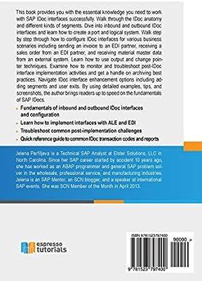 What on Earth is an SAP IDoc? - Jelena Perfiljeva     - Amazon fr