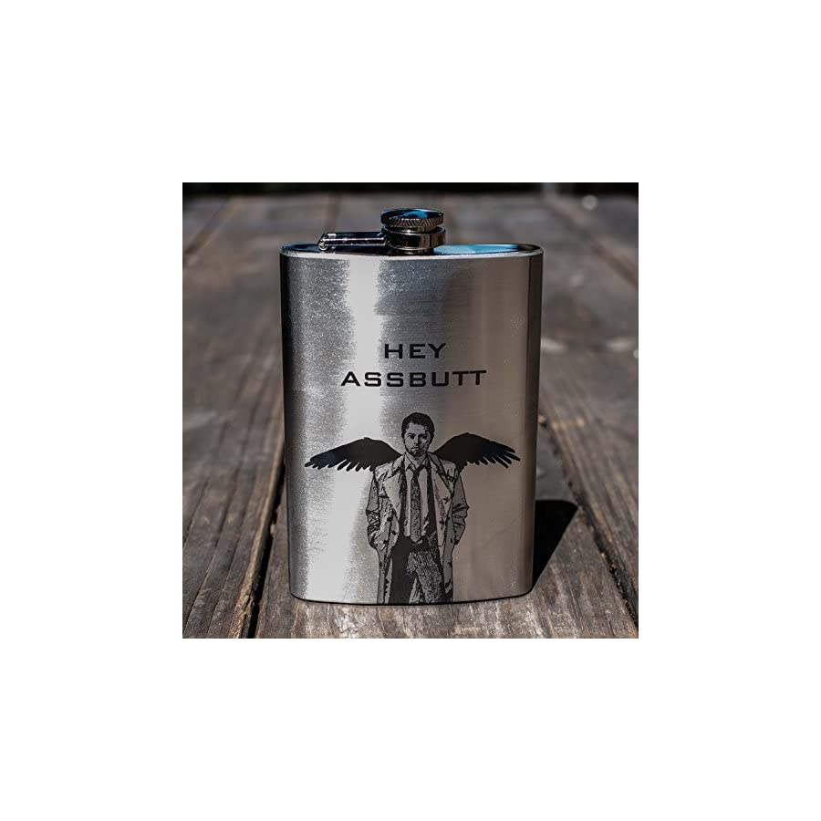 8oz Hey Assbutt Flask L1
