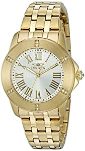 Invicta 20371 SYB Specialty Analog Display Quartz Gold Watch for Women