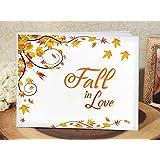 Fall in Love Autumn Wedding Guest Book - 1