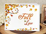 Fall in love guest book