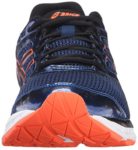 ASICS Mens Gel-Excite 4 Running Shoe Poseidon/Black/Hot Orange i9fVXmxj