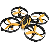 TOZO Q2020 Drone RC Mini Quadcopter Altitude Hold Height Headless RTF 3D 6-Axis Gyro 4CH 2.4Ghz Helicopter Steady Super Easy Fly for Training [Yellow]