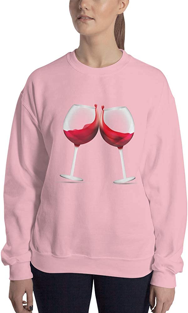 Red Red Wine Crew Neck Sweatshirt