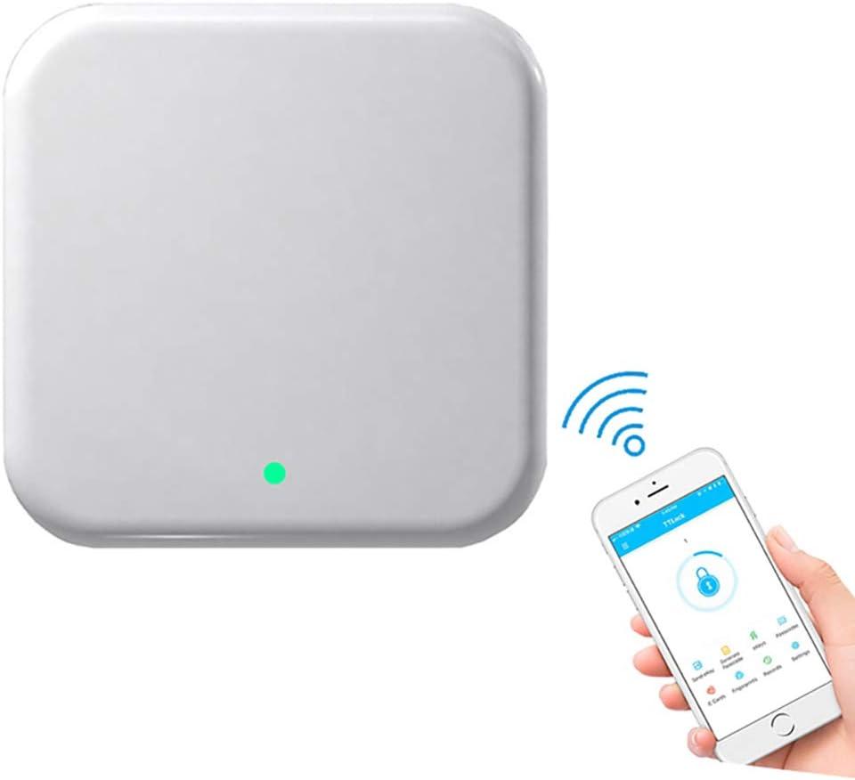 Smart Electronic Lock Fingerprint Door Lock Biometric Security Intelligent Keyless Entry Bluetooth APP Wifi RFID Card Password Unlock for 40-100mm Door Hotels,Apartments,Homes,Gold,L