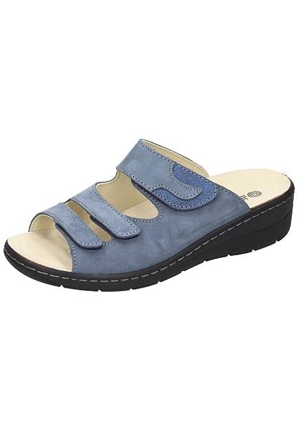9d624c4510775 Dr. Brinkmann Damen-Pantolette Blau 701139-5: Amazon.co.uk: Shoes & Bags