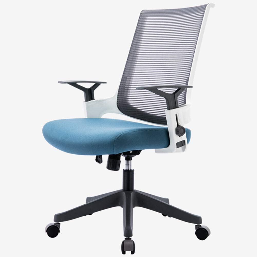 Amazon Com Computer Chair Office Chair Ergonomic Chair Mesh Swivel Chair Modern Minimalist Home Study Chair Kitchen Dining