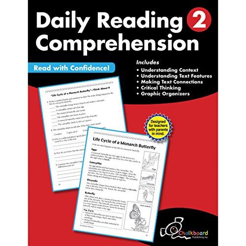 Daily Reading Comprehension Grade 2 (Chalkboard Publishing Workbooks)