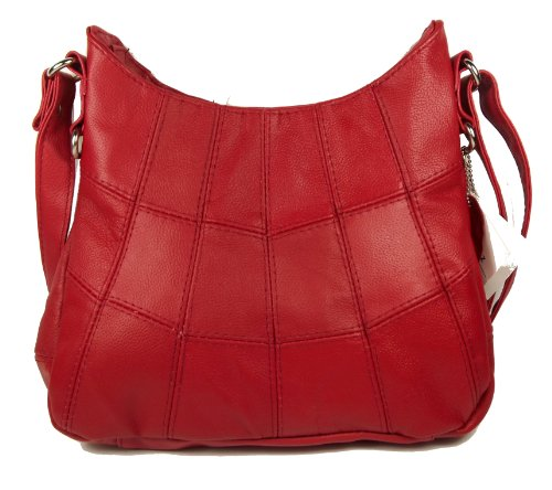 Lorenz , Damen Umhängetasche Rot rot Medium (Medium UK)