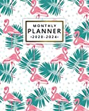 2020-2024 Monthly Planner: 5 Year Monthly