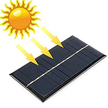 Amazon In Buy 3d Print 6v 1w 110 X 60 Mm Sunpower Diy Module Solar Panel System Lamp Battery Phone Charger Online At Low Prices In India 3d Print Reviews Ratings