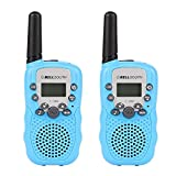 Leegoal Walkie Talkies for Kids, 22 Channel Walkie Talkies, 2 Mile Range, Built in Flash Light,Toys for 3-12 Year Old Boys and Girls, Best Gifts for Birthday