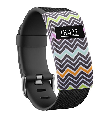 GEARKING Band Cover for Fitbit Charge /Fitbit Charge HR Slim Designer Sleeve Protector accessories