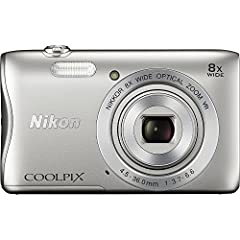 Ready, Set, Go It's hard to believe how much the COOLPIX S3700 offers - high resolution photos and HD videos, plenty of zoom, fun features and even connectivity! Share exceptional images from the COOLPIX S3700 to a compatible smartphone wirel...