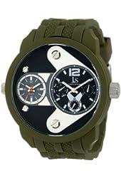 Joshua & Sons Men's JS52GN Green Multi-Function Watch