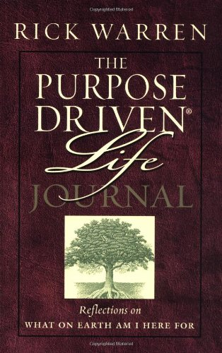 (The Purpose Driven Life Journal)