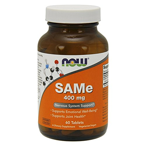 NOW SAMe 400 mg,60 Tablets by NOW Foods