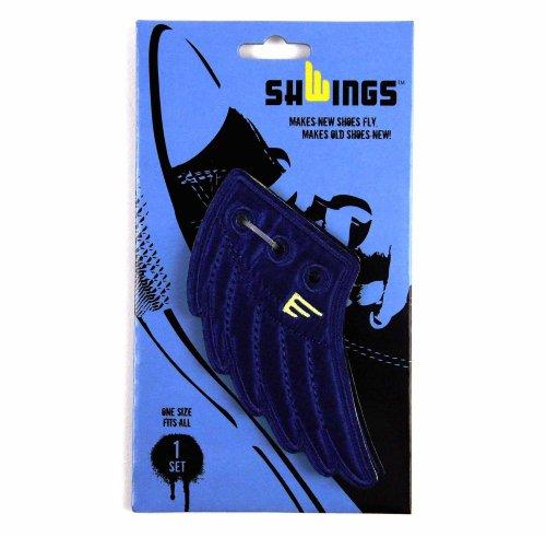 Schwings - Blue Angel Wings for Sneakers & Trainers