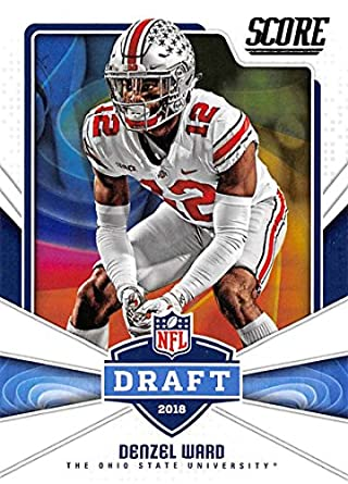 7bab527cb Amazon.com  2018 Score NFL Draft  11 Denzel Ward Ohio State Buckeyes ...