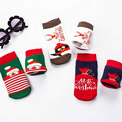3 Carnaval Pour Imprimé Christmas Vetement Animation Noël Pcs Babe Fille Blanc Anniversaire Accessoires Hiver Deguisement Chaud Thème Renforcé Cadeau Angelof gq4yYvEBy