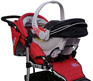 Amazon.com : Tike Tech Single Stroller Car Seat Adapter ...