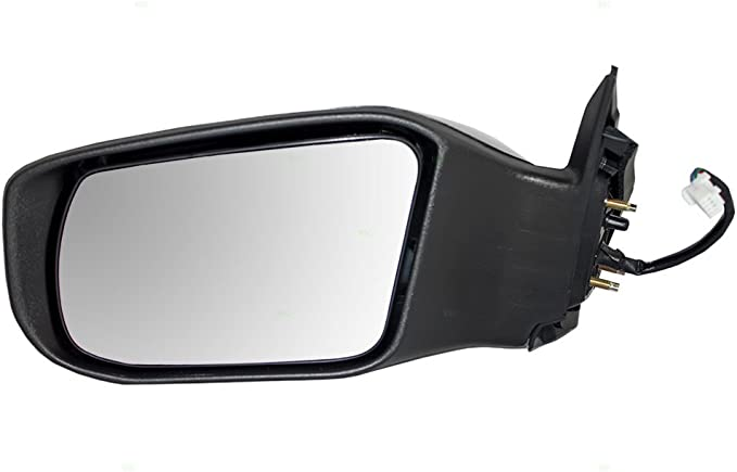 Left  Door Mirror Satin White Pearl Replacement for 02-06  Altima 96302-3Z120