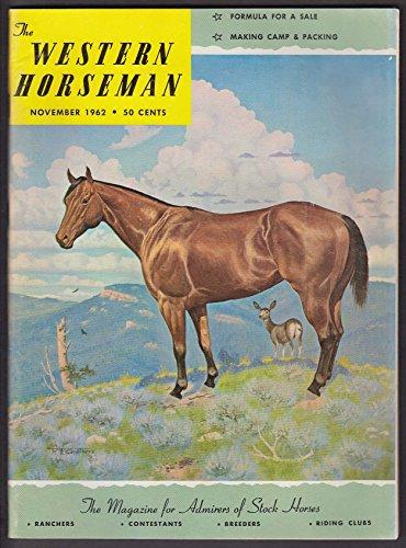 WESTERN HORSEMAN Puncture Henington Duane Howard Ruidoso's Aspencade Ride 11 1962