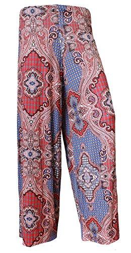 Zaif & Hari - Pantalón - para mujer Red Paisley