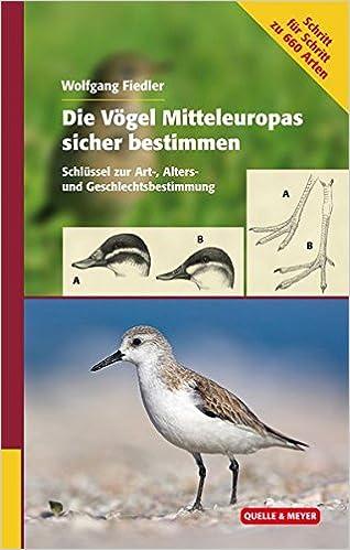 Die Vogel Mitteleuropas Sicher Bestimmen Schlussel Zur Art Alters Und Geschlechtsbestimmung Amazon De Fiedler Wolfgang Bucher